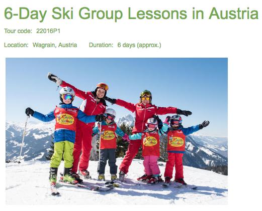 Remote team retreats can include ski lessons in Austria.