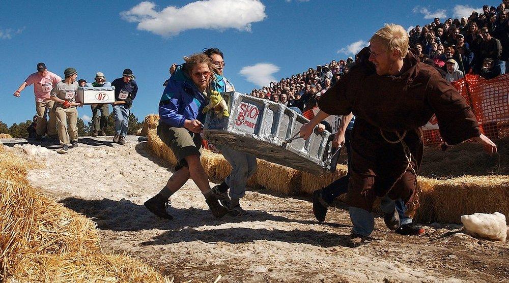 Frozen Dead Guy Days Nederland Colorado Dead Guy Coffin Races