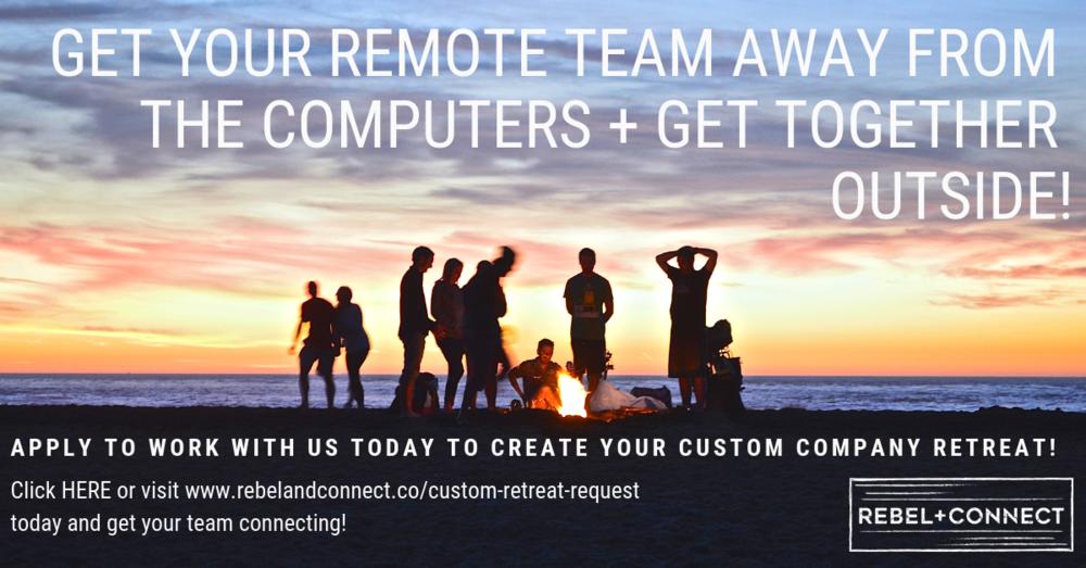 Custom Company Retreat Quote Remote Teams