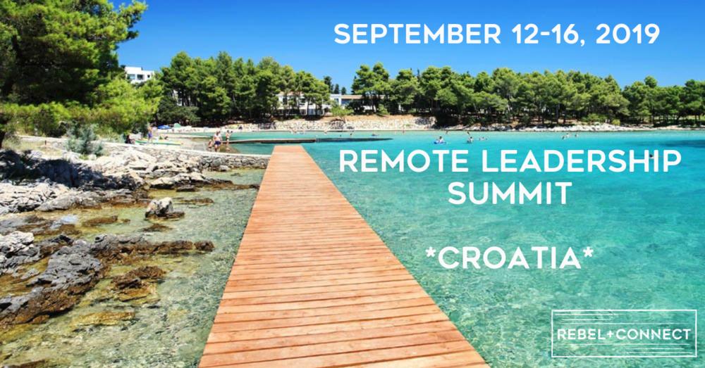 Remote Leadership Summit Croatia Remote Work Team Retreat
