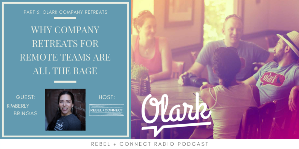 Click on the image to hear why Olark couldn't be the incredible remote team that they are without a company retreat!