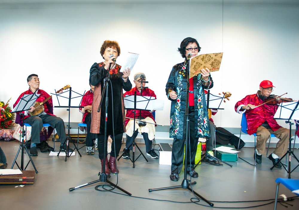 Kwong Dung Musical Club Perform at the Pao Arts Center Grand Opening.  Photo Credit: Steven Sulweski Photography