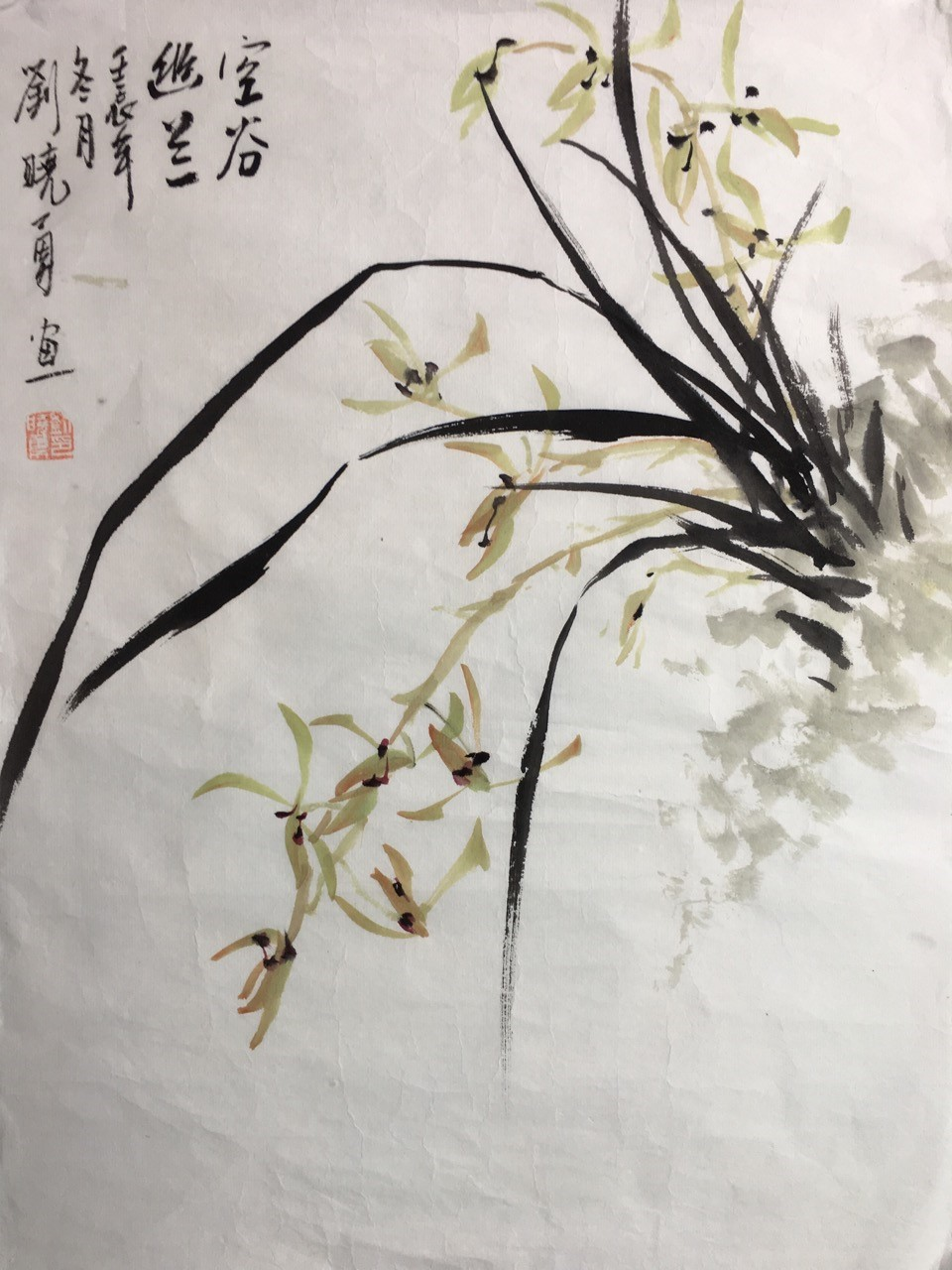 Chinese Brush Painting for Adults: Orchids — BCNC
