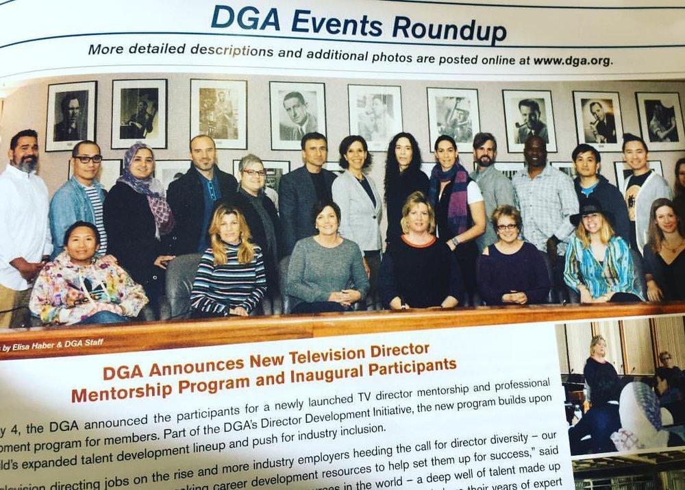 DGA Mentorship Program