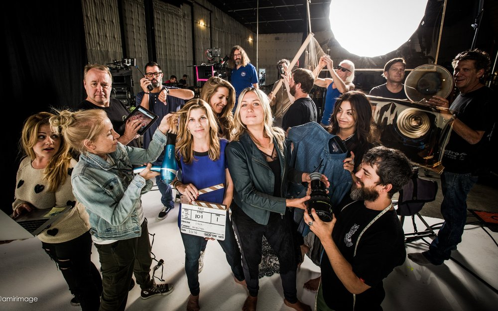 Director Publix commercial campaign with DP Anka Malatynska & fab crew