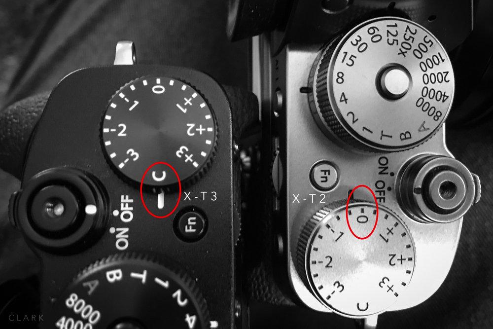 EV Dials - Set them like this