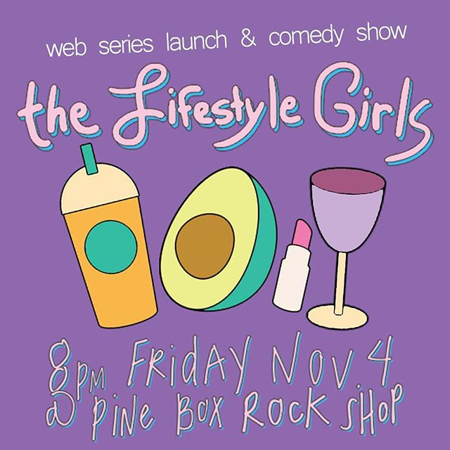 Ah! Mondays! What an exciting week, TOMORROW, we're releasing our video series #thelifestylegirls giving you a behind the scenes look at #lifestyle creation! Then Friday we're celebrating! YAY! Hope to see you there! 🍾
