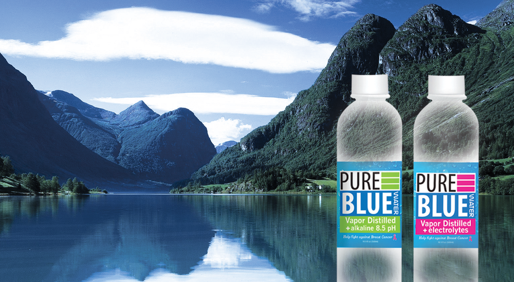 Pure Blue Water