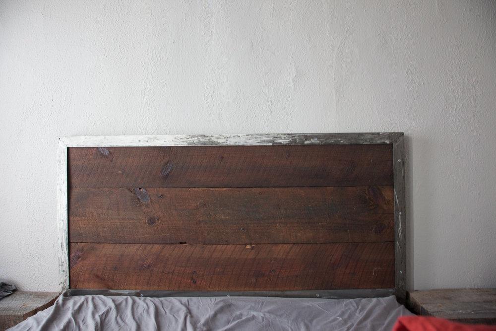Antique Joist Headboard - Antique Joist Headboard — UNION ARTISAN - Custom Furniture Handmade