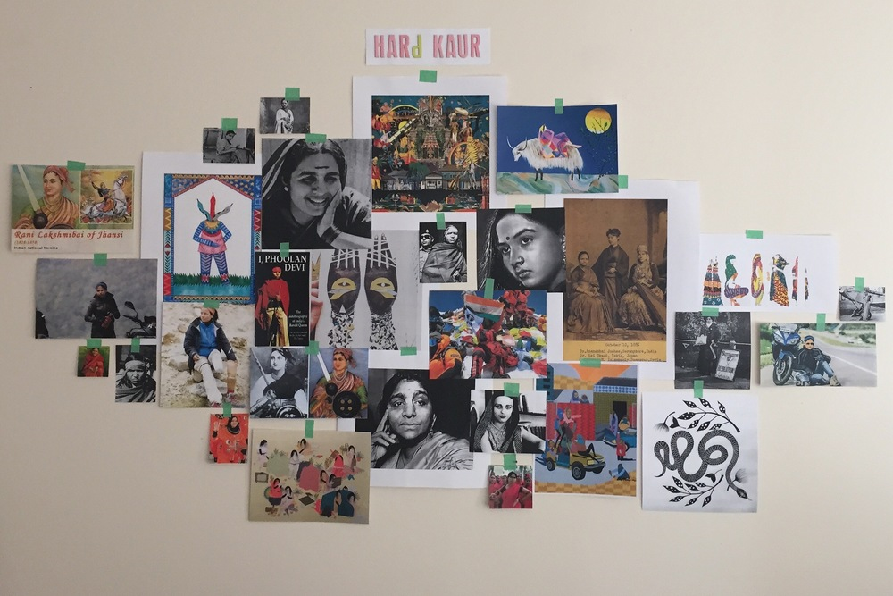 Inspirations for HARD KAUR