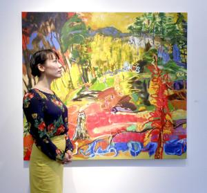 Vancouver artist consulant Pennylane Shen