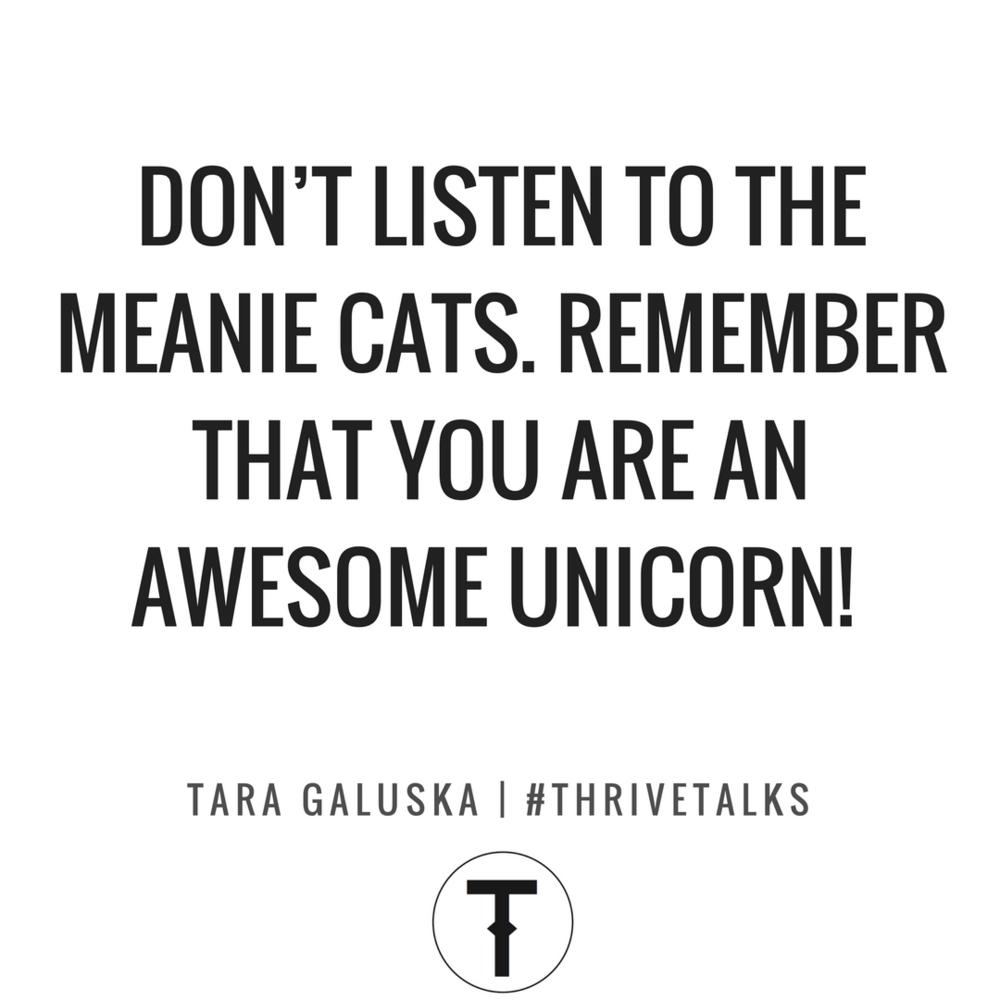 Artist Tara Galuska Speaker THRIVE TALKS