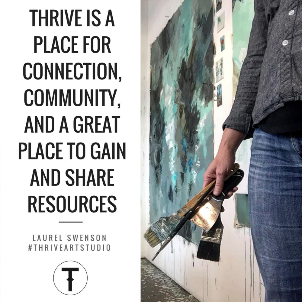 Vancouver Artist Laurel Swenson THRIVE Mastermind Member