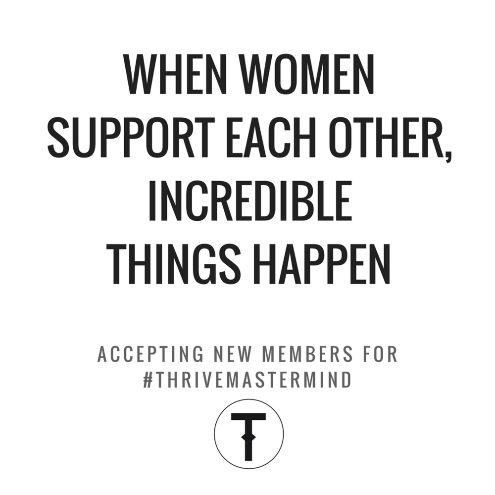 Thrive artist mastermind group accepting new members