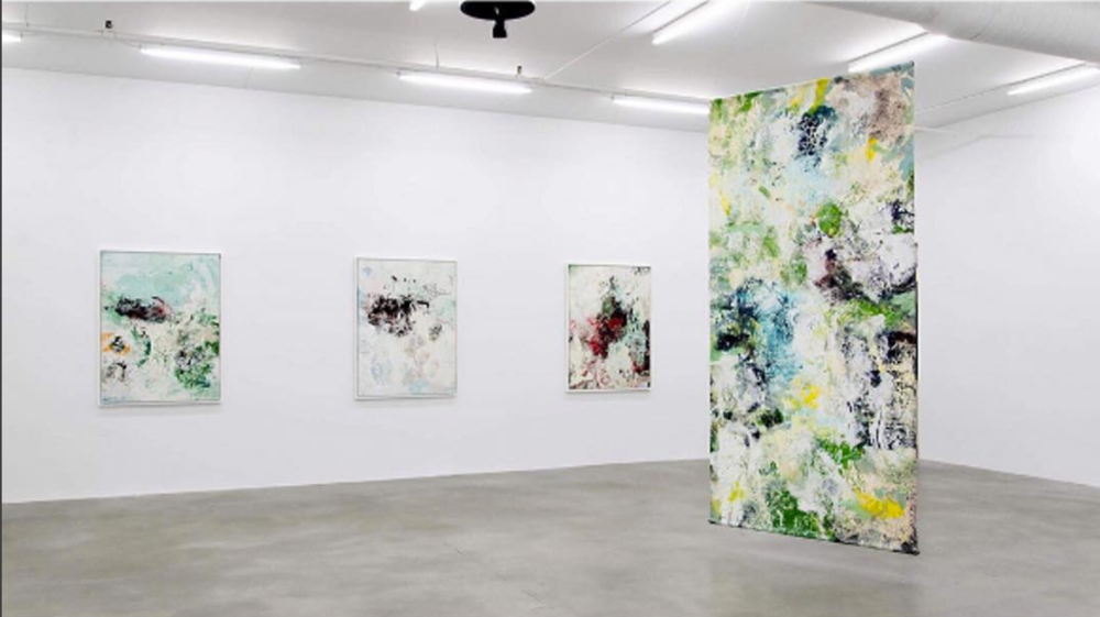 """Winsor Galleryand their current show """"Unfolding Memories"""" by Amelie Ducommun."""