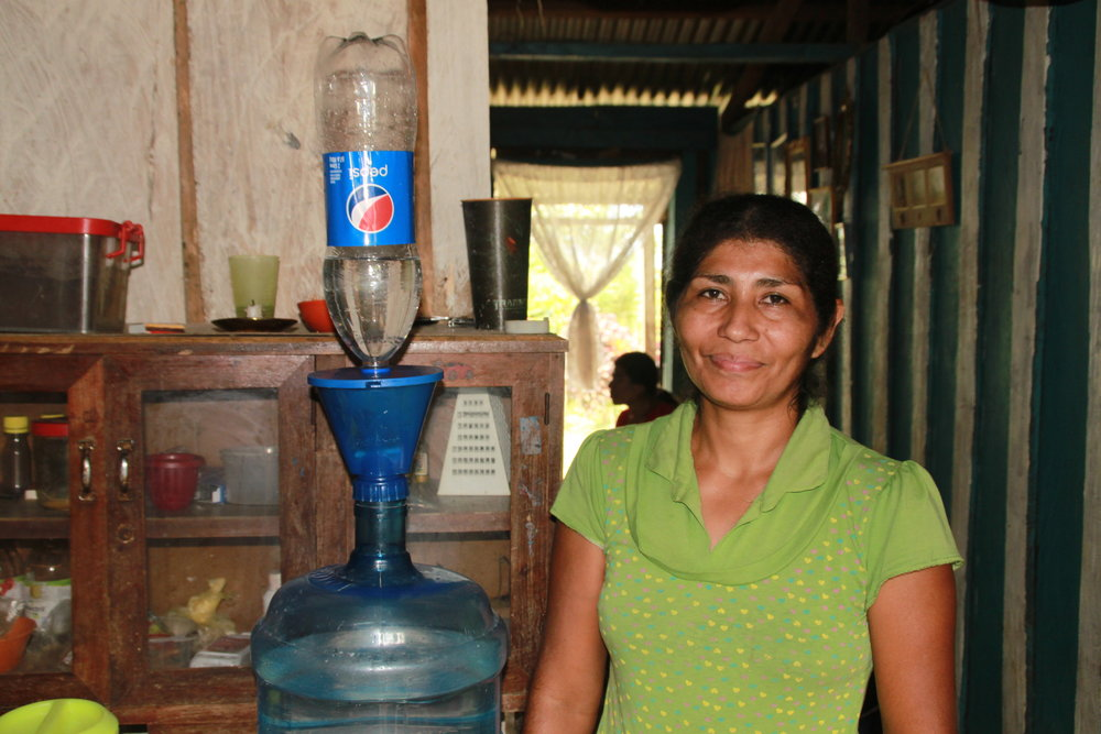 Household trials in Honduras