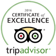 Trip Advisor Restaurant Winner