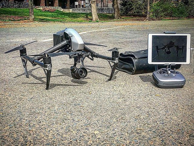 Setting up shop for the day at UMASS Amherst with the Inspire 2 and X5s! With @infinitecanvasfilms aerial #drone #droning #fromwhereidrone #dronegear #thedroneu @thedroneu #dronesdaily #djidjiobal #inspire2 #inspire