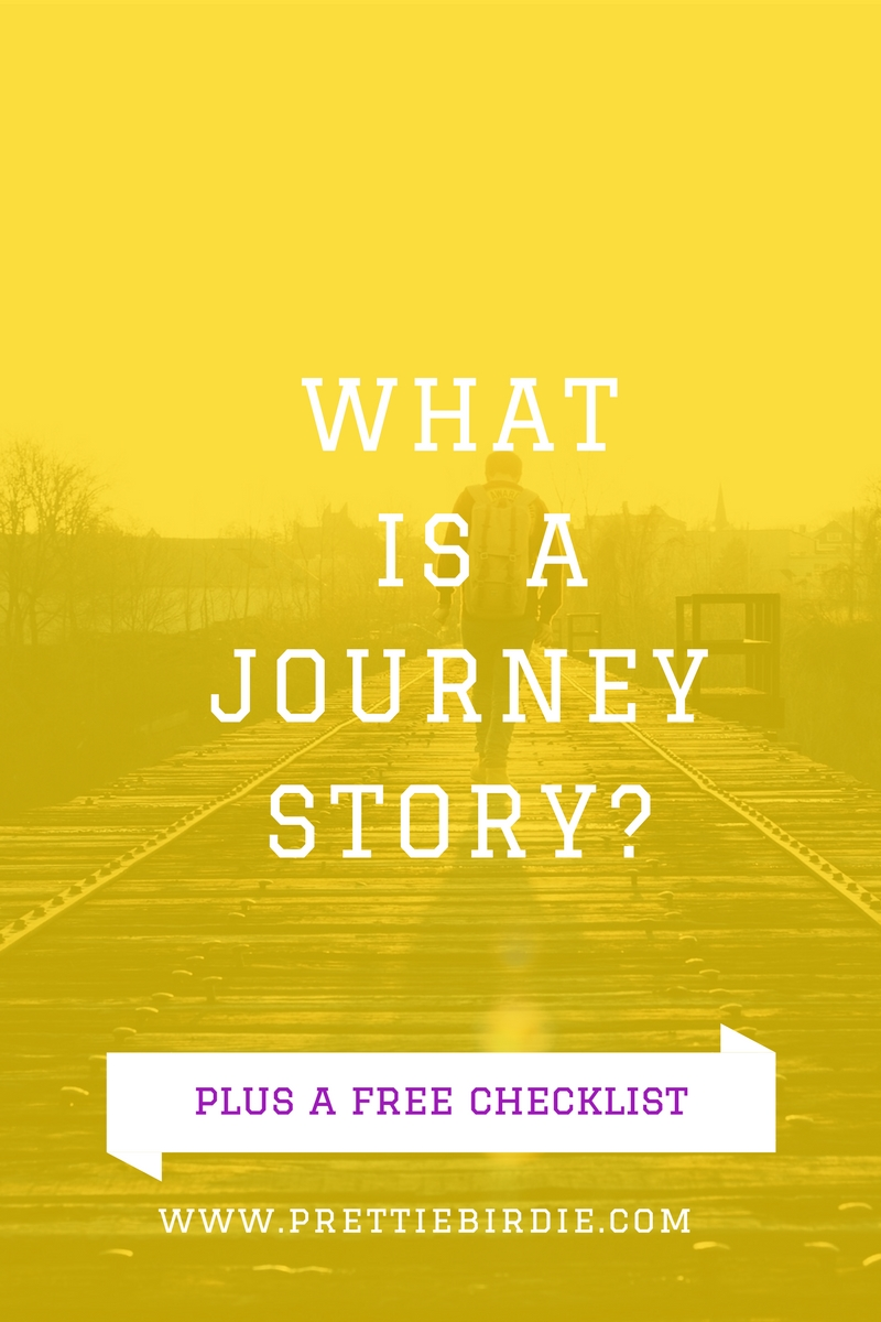 What's a Journey Story? Plus a FREE Printable from www.prettiebirdie.com.