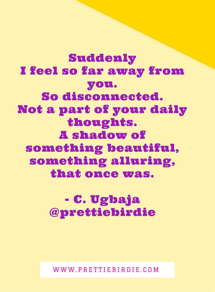 #90SECPOETRY - SUDDENLY