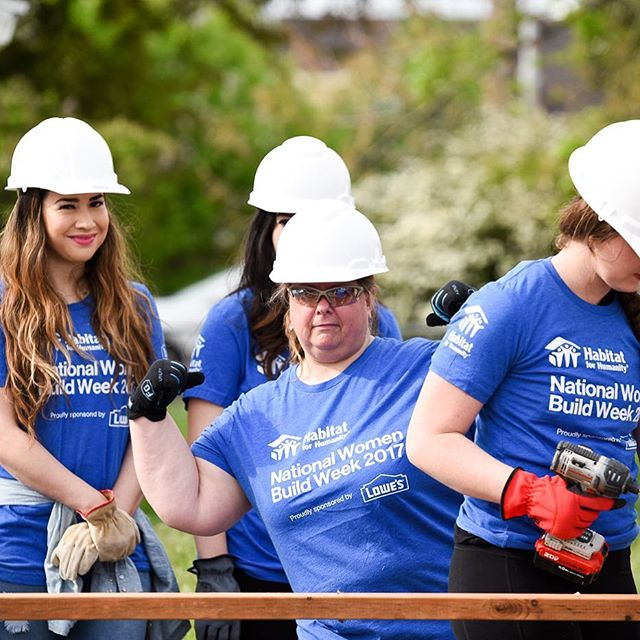 @habitatuc is organizing a special Women Build Day (where all women crews build a Habitat 🏡) for Women Who Build summit attendees on Saturday September 23rd. To sign up, contact leannhillam@habitatuc.org.