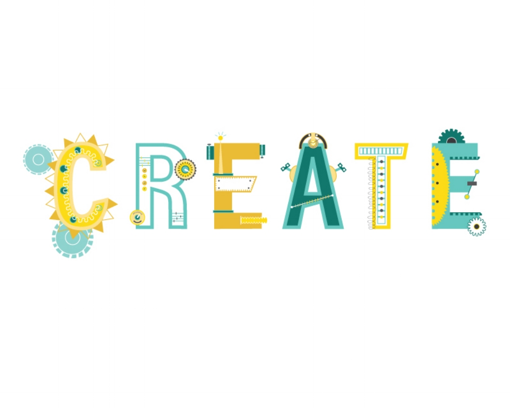 Create // Digital Illustration by Alyson Dietz // www.alysondietz.com