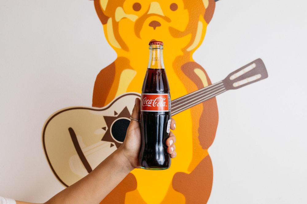 Mexican soda 3.50 - Coke, Sprite, Fanta