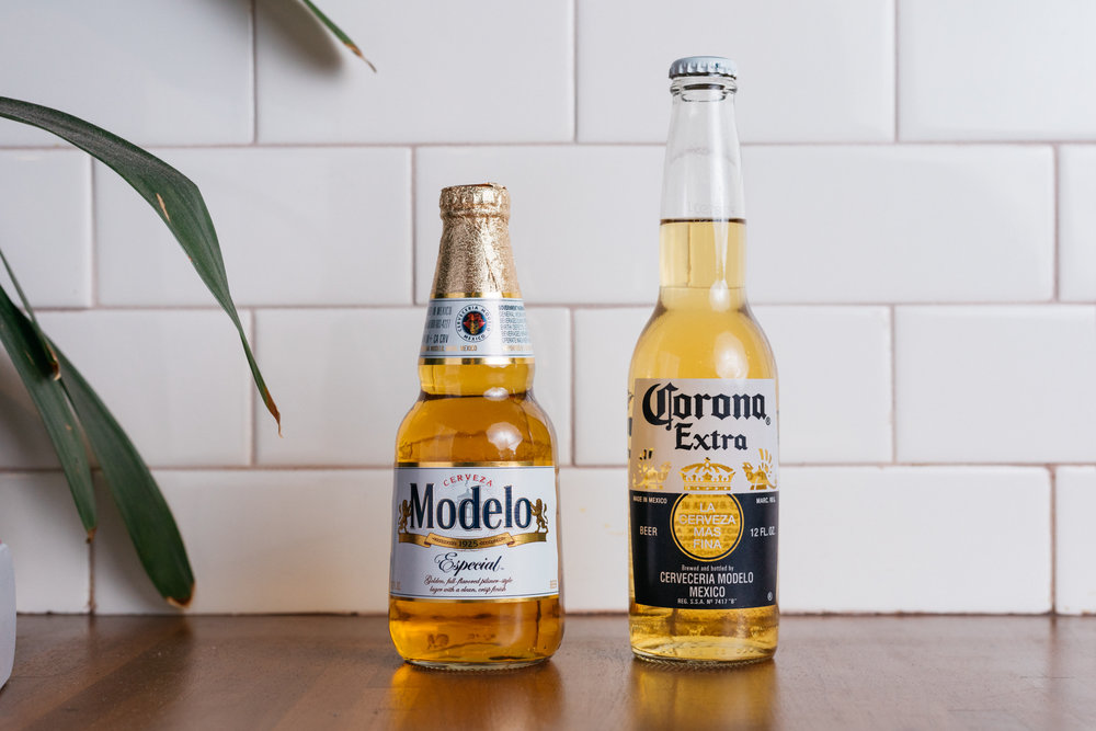 tecate 4;CORONA 5;MODELO 5.50 - make it a michelada - add 2.00