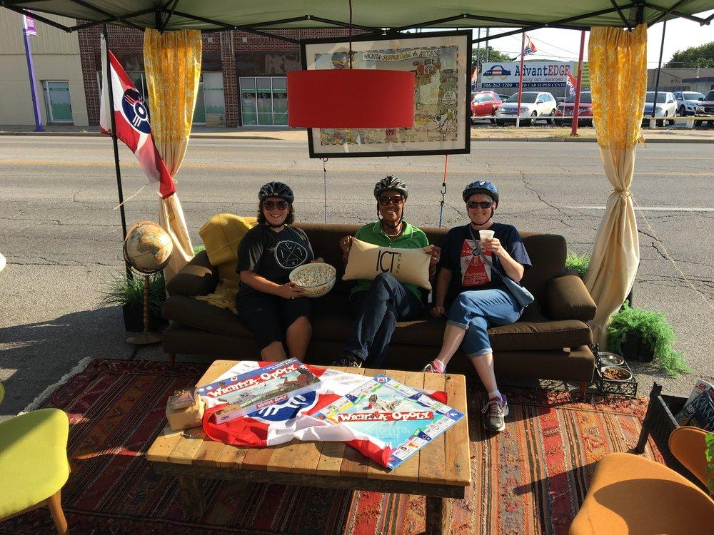Park(ing) Day Wichita - 2016