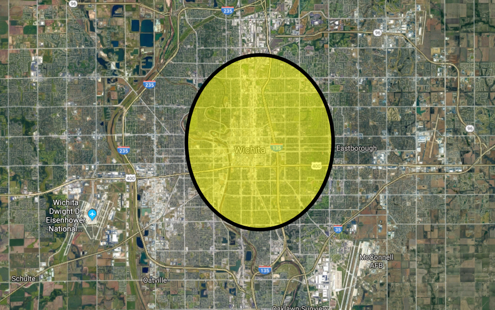 Our work is most effective in neighborhoods developed prior to World War II, with human-oriented urban form. Generally, this means neighborhoods inside the yellow oval.