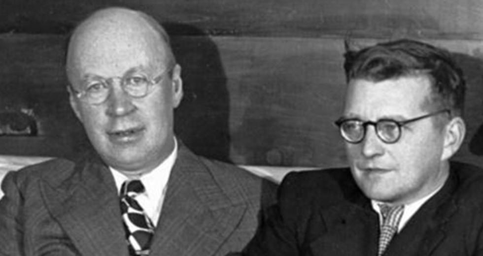 Sergei Prokofiev and Dmitri Shostakovich.