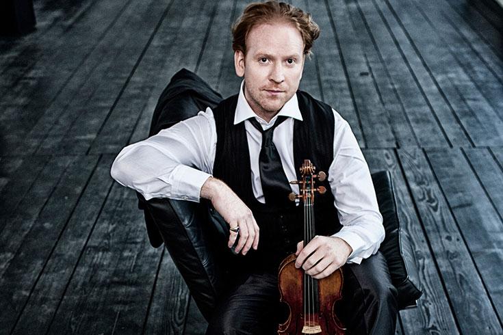 Daniel Hope, violinist.