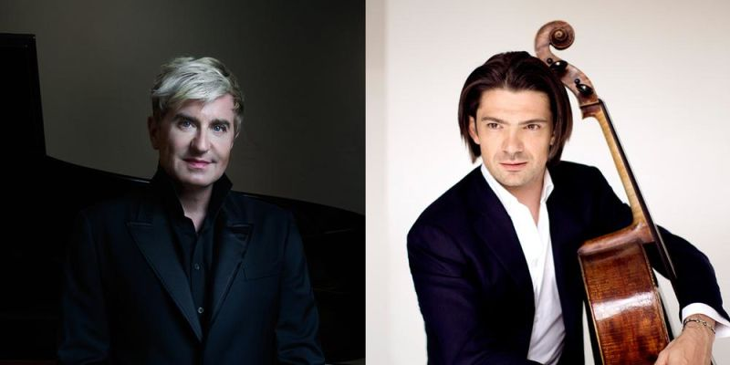 Pianist Jean-Yves Thibaudet and cellist Gautier Capucon