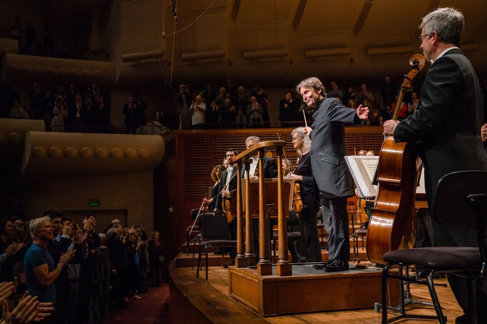 Esa-Pekka Salonen conducts the San Francisco Symphony for the first time since his appointment as Music Director Designate.