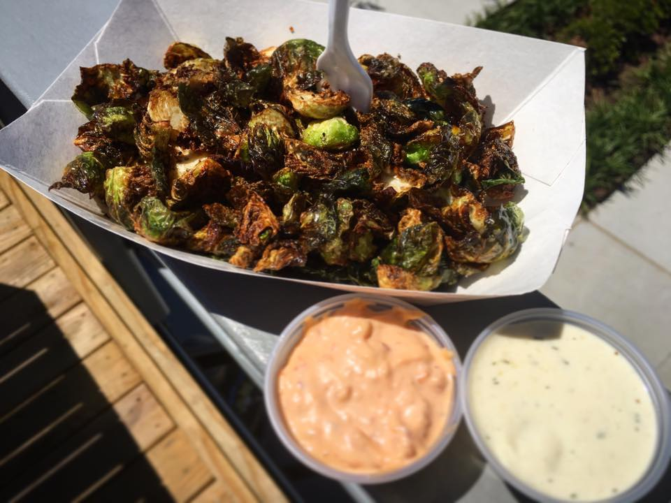 Deep Fried Brussles Sprouts