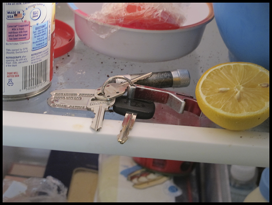 Keys in the Fridge!