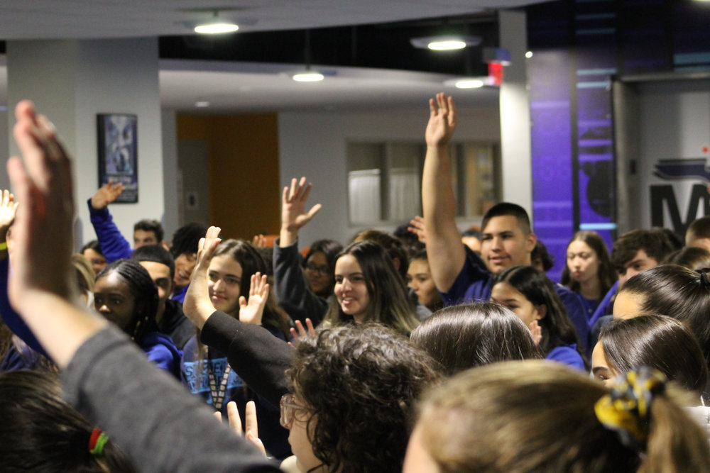 The Miami New Drama production of Antigone reached approximately 10,000 students in Miami-Dade County.