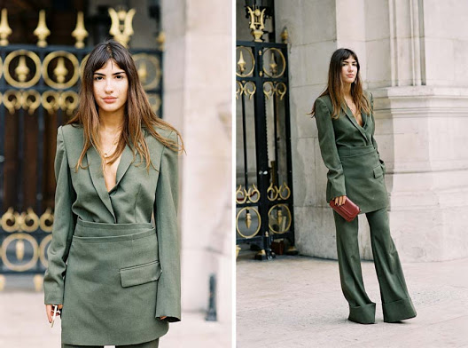 Patricia Manfield of   The Atelier  , after Stella McCartney, Paris, October 2015.