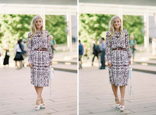 Creative Consultant Kate Foley, before Tory Burch, NYC, September 2015