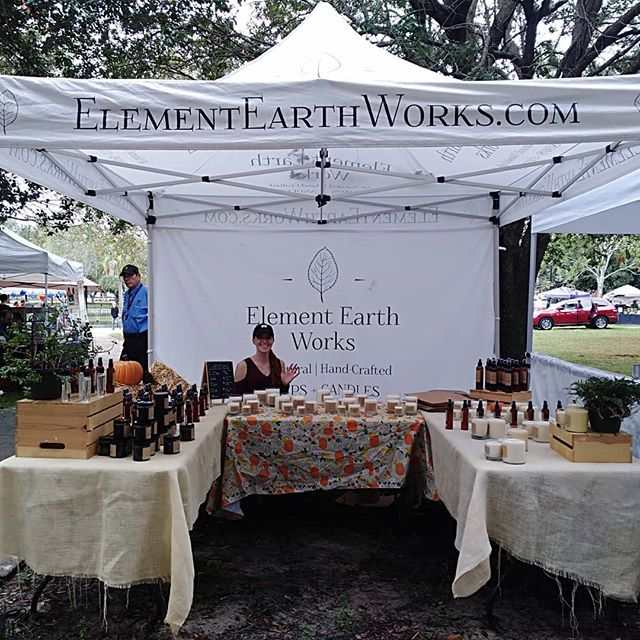 We are all set up here at Vegfest in Riverside Park! Come check out our all vegan home and body products along with all the other animal friendly vendors! Good music, great food and local earth-conscious fares. Sounds like  perfect Saturday to us :)