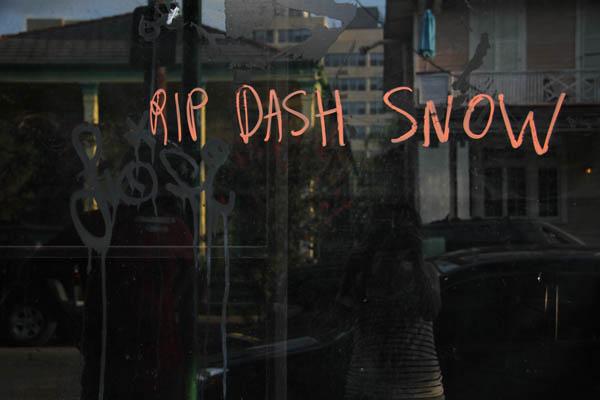dash snow
