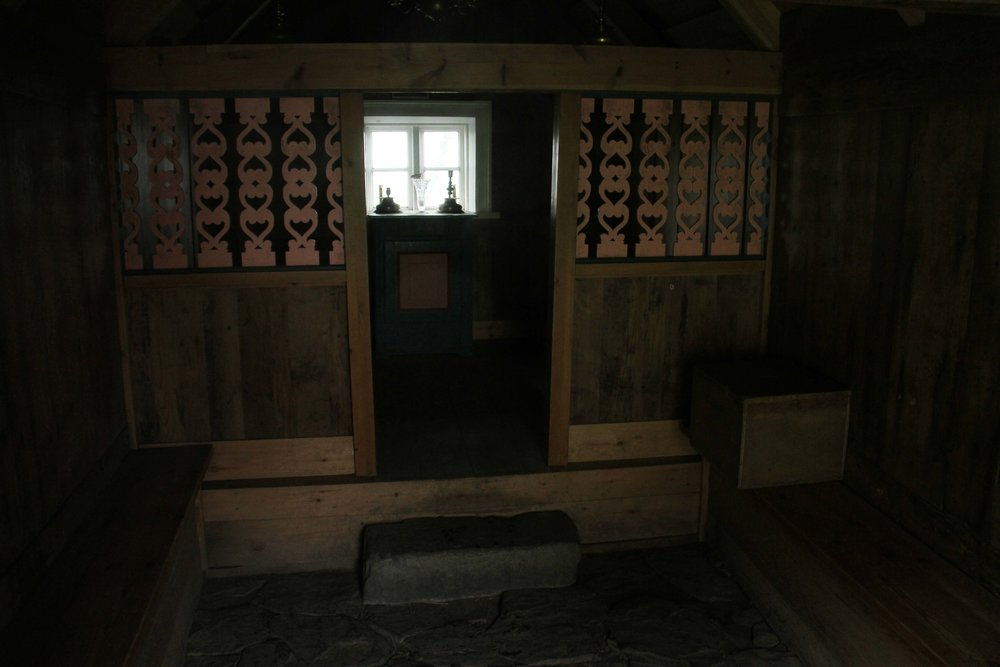 Nupsstadur church interior