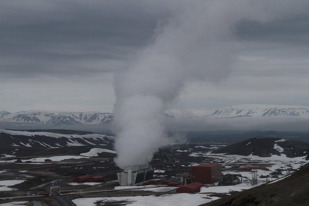 Kafla Geothermal Plant