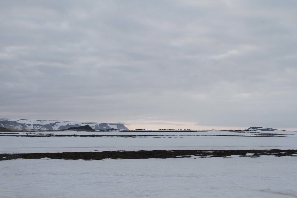 midnight sunset Iceland