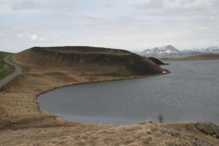 Iceland mini crater