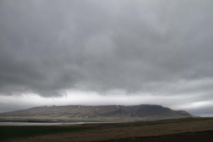 Icelandic storm