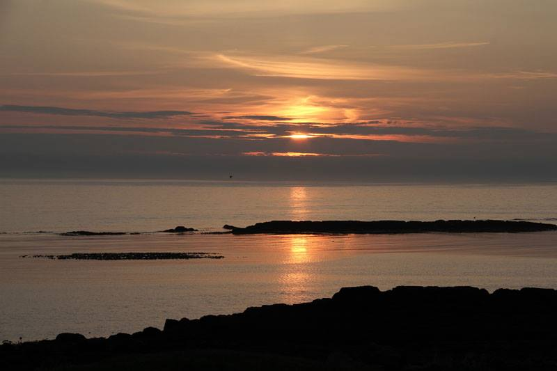 sunset Iceland