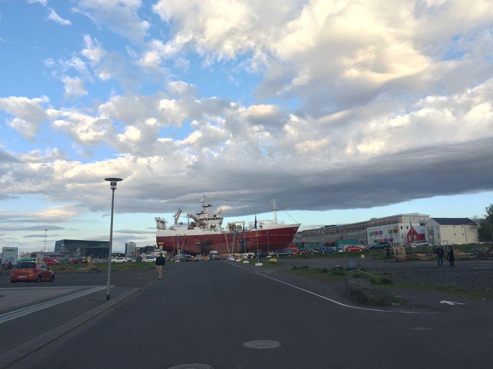 Where the (Reykjavik) sidewalk ends...