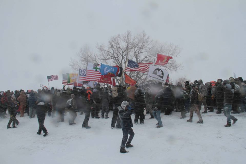 Standing rock vets