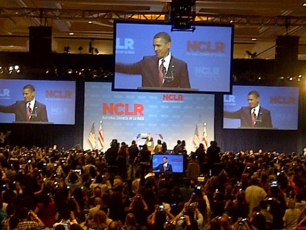 President Barack Obama at the NCLR 2011 Annual Conference